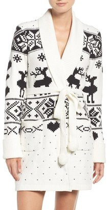 Betsey Johnson Sweater Robe $68 thestylecure.com