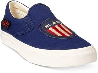 Polo Ralph Lauren Men's Thompson Slip-On Sneakers Men's Shoes