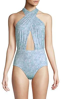 6 Shore Road by Pooja by Pooja Women's Cabana Serenity Swimsuit