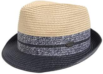 HUGO BOSS Straw Effect Hat