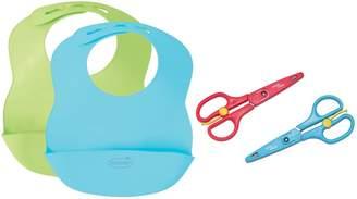 Summer Infant Bibbity Bib 2 Pack with Food Shears