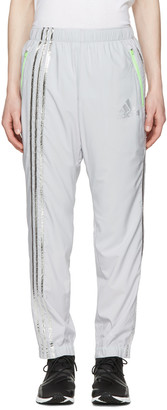 Adidas x Kolor Grey Track Pants $235 thestylecure.com