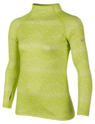 Nike Pro Graphic Hyperwarm Girls' Shirt