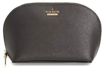 Kate Spade New York Cameron Street - Small Abalene Leather Cosmetics Bag