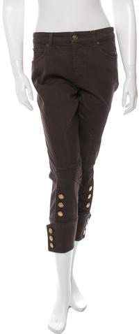 GucciGucci High-Rise Cropped Jeans