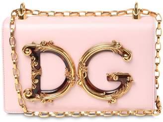 Dolce & Gabbana (ドルチェ & ガッバーナ) - DOLCE & GABBANA DG GIRLS BAROCCO レザーショルダーバッグ