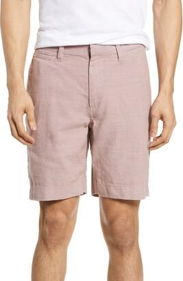 John Varvatos Johnny Flat Front Shorts