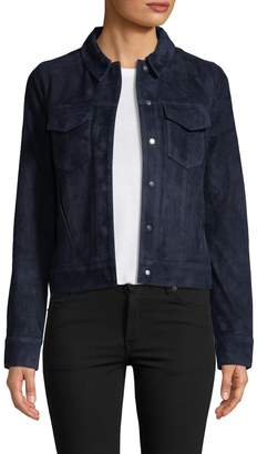 J Brand Women's Ethel Suede Jacket