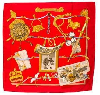 Hermes Memoire d'Hermès Silk Scarf