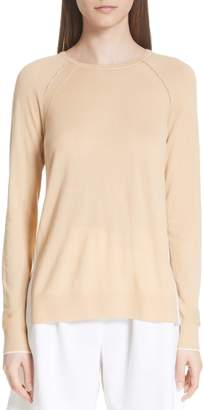 St. John Raglan Sleeve Cashmere Sweater