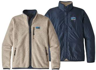 Patagonia Men's Woolie Fleece Reversible Jacket