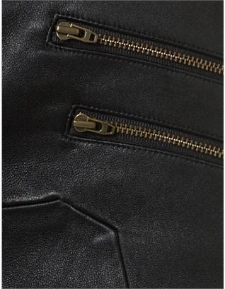 Kain Label Priory of Ten Black Leather Leggings