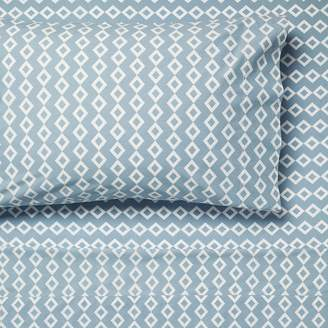 Linen House Jed Sheet Set, Blue Queen