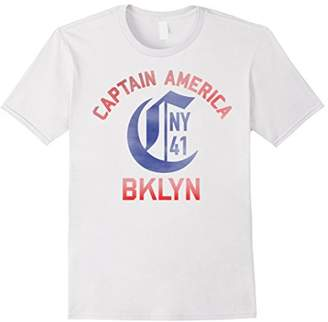 "Marvel Captain America BKLYN Jersey ""C"" NY 1941 T-Shirt"