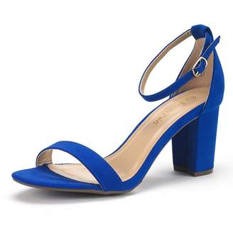 d9a41494684 Blue Chunky Heel Sandals For Women - ShopStyle Canada