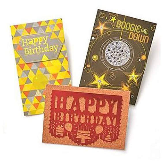GARTNER STUDIOS Gartner Greetings Premium Greeting Cards, 3 pack - Birthday