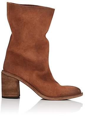 Marsèll Women's Suede Knee Boots - Rust
