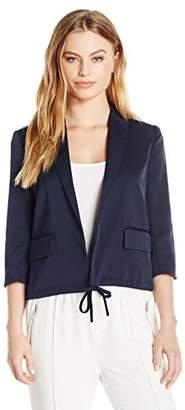 Ellen Tracy Women's Petite Size Drawstring Jacket