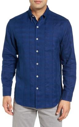 Men's Big & Tall Tommy Bahama A Linen Legend Classic Fit Linen Blend Sport Shirt $138 thestylecure.com