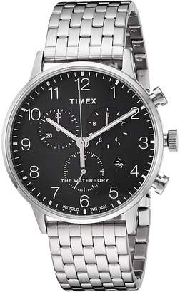 Timex Waterbury Classic Chrono Stainless Steel Watches