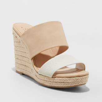 A New Day Women's Adelina Espadrilles Slide Sandals