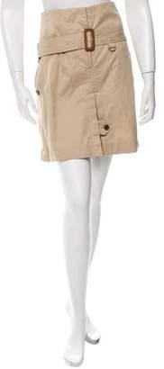 Celine Belted Mini Shorts