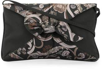 Gucci Pre-Owned floral print nylon clutch
