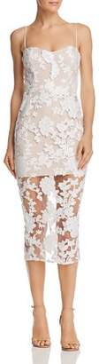 Nookie Enchant Illusion Midi Dress
