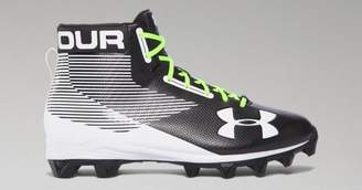 12f33281353 ... Under Armour Mens UA Hammer Mid Rubber Molded Football Cleats