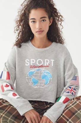 Anthropologie International Sport Cropped-Sweatshirt