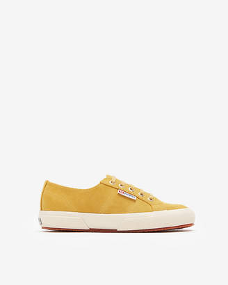 Express Superga 2750 Shearling Lined Sneakers