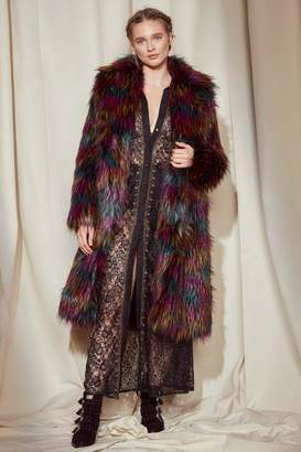Nasty Gal Studio Stevie Faux Fur Coat