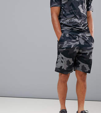 Canterbury of New Zealand Vapodri Camo Stretch Knit Shorts In Black Exclusive To ASOS
