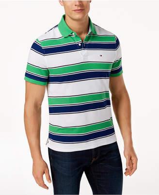 Tommy Hilfiger Men's Ricky Striped Slim Fit Polo
