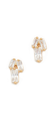 Gorjana Amara Stud Earrings $50 thestylecure.com