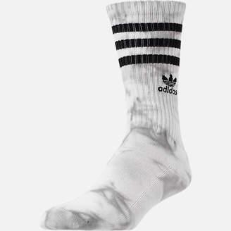 adidas Men's adidias Originals Tie Dye Roller Crew Socks