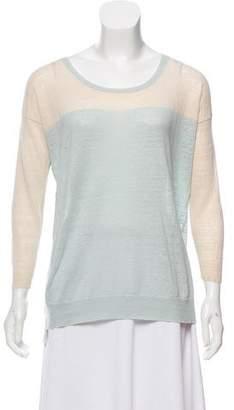 Rebecca Taylor Long-Sleeve Knit Top
