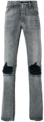 Unravel Project distressed basic skinny jeans
