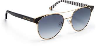 Henri Bendel Marie Round Sunglasses