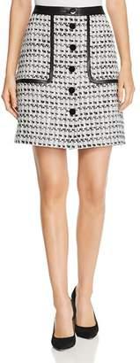 Karl Lagerfeld Paris Tweed Skirt
