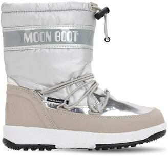 Moon Boot WATERPROOF NYLON SNOW BOOTS