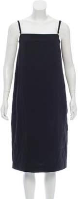 Bassike Sleeveless Knee-Length Dress