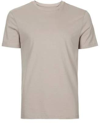 Topman Mens Light Brown Slim Fit T-Shirt