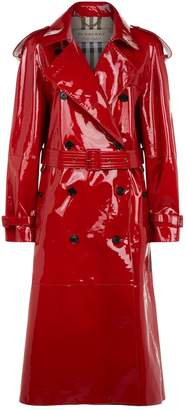 Burberry Eastheath Laminated Trench Coat
