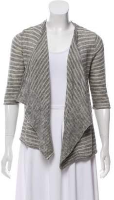Calypso Wool Striped Cardigan