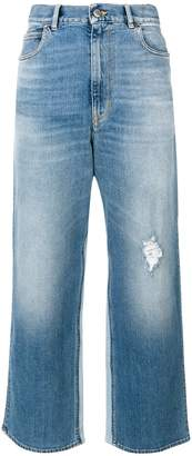 Golden Goose cropped flared jeans