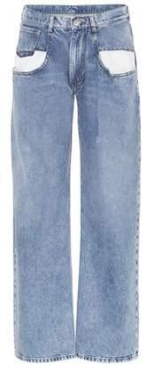 Maison Margiela High-waisted wide-leg jeans