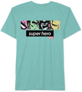 Hybrid Men's Marvel Superhero Graphic T-Shirt