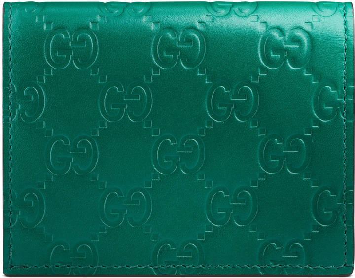 GucciGucci Signature card case