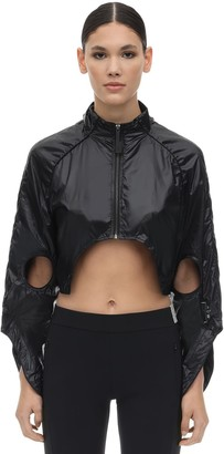 A-Cold-Wall* A Cold Wall* Cut Out Nylon Cropped Jacket